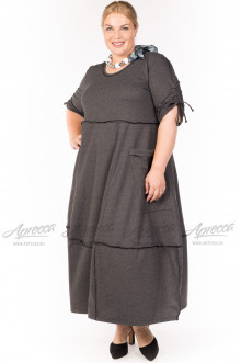 "Платье ""Артесса"" PP30502GRY22 (Серый)"