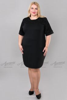 """Платье """"Артесса"""" PP01906BLK00 (Черный)"""