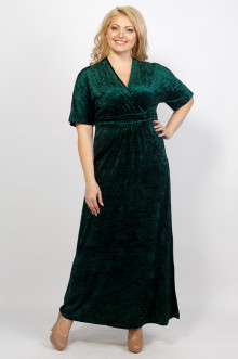 "Платье ""Фаина"" Sparada (Тёмно-зелёный)"