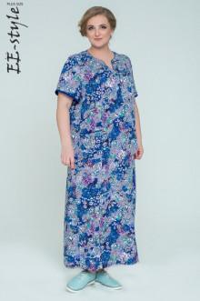 """Платье """"Её-стиль"""" 2032 ЕЁ-стиль (Синий)"""