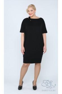 """Платье """"Трина"""" Zar Style (Черный)"""