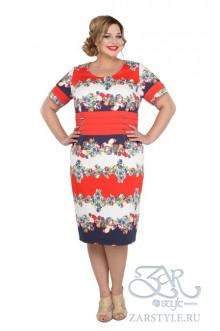"Платье ""Бренди"" Zar Style (Красный)"