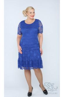 "Платье ""Лизетта"" Zar Style (Голубой)"