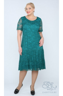 """Платье """"Лизетта"""" Zar Style (Зеленый)"""