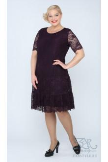 "Платье ""Лизетта"" Zar Style (Сирень)"
