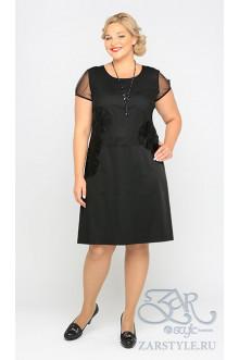 """Платье """"Лаво"""" Zar Style (Черный)"""