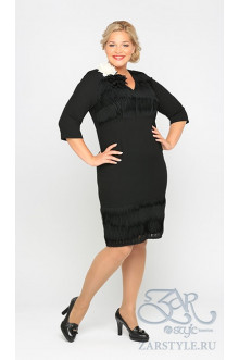 "Платье ""Цент"" Zar Style (Черный)"