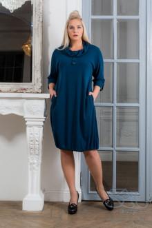 """Платье """"Нила-евро"""" Zar Style (Темно-зеленый)"""