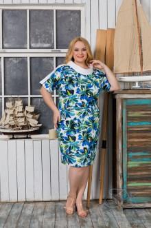 """Платье """"Крис-люкс"""" Zar Style (Разноцветный)"""