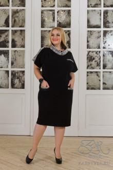 """Платье """"Лидия"""" Zar Style (Черный)"""