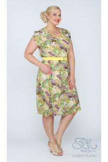 "Платье ""Астера"" Zar Style (Желтый)"