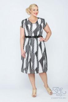 "Платье ""Астера"" Zar Style (Черный/белый)"