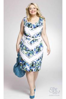 "Платье ""Экзотика"" Zar Style (Голубой)"