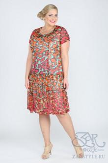 """Платье """"Мелоу"""" Zar Style (Разноцветный)"""