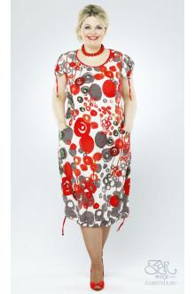 """Платье """"Монако"""" Zar Style (Красный)"""