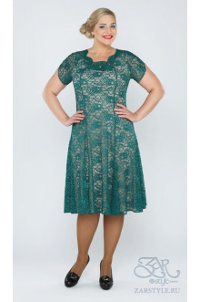 "Платье ""Тайли"" Zar Style (Бирюза)"