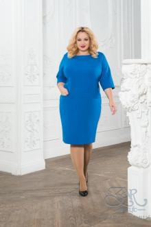 "Платье ""Катрин"" Zar Style (Василек)"