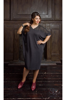 """Платье """"Белин"""" Zar Style (Черный)"""