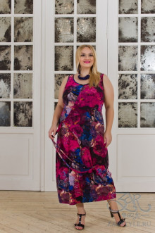 "Платье ""Магнолия"" Zar Style (Фуксия)"
