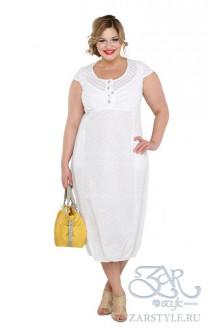 "Платье ""Римини"" Zar Style (Белый)"