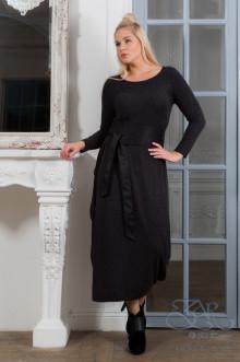 "Платье ""Эвита"" Zar Style (Черный меланж)"