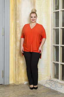 "Блуза ""Гаяна"" Zar Style (Оранжевый)"
