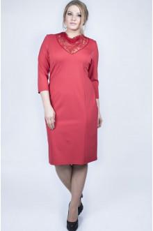 """Платье """"Тея гипюр"""" Sparada (Красный)"""