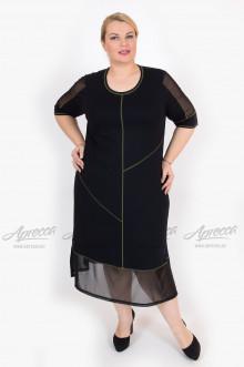 """Платье """"Артесса"""" PP07203BLK45 (Черный)"""
