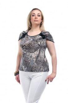 """Блуза """"Олси"""" 1207003.2 ОЛСИ (Серый)"""
