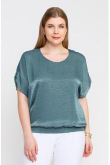 """Блуза """"Лина""""4140 (Оливковый)"""
