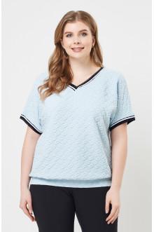 """Блуза """"Лина"""" 4136 (Голубой)"""