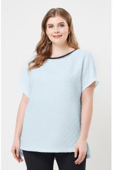 """Блуза """"Лина"""" 4146 (Голубой)"""