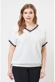 "Блуза ""Лина"" 4136 (Белый)"