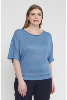 """Блуза """"Лина"""" 3516 (Голубой)"""