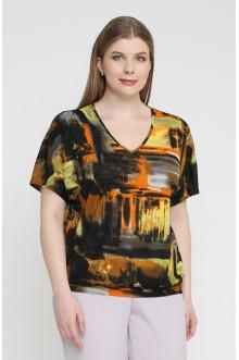 "Блуза ""Лина"" 4148 (Оранжевый)"