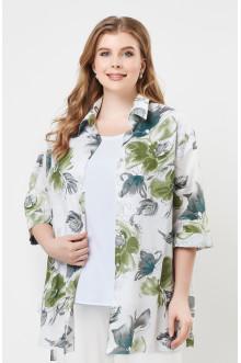 """Блуза """"Лина"""" 4233 (Оливковый)"""