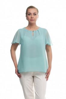 """Блуза """"Олси"""" 1610015/4 ОЛСИ (Светло-бирюзовый)"""