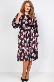 """Платье """"Марго 2"""" Sparada (Чёрный / Красный)"""