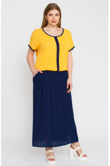 """Платье """"Лина"""" 5294 (Желтый)"""