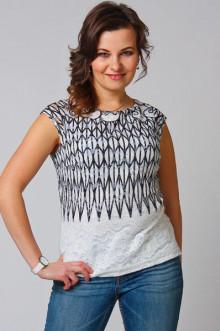 """Блуза """"СКС"""" 2610 (Белый)"""