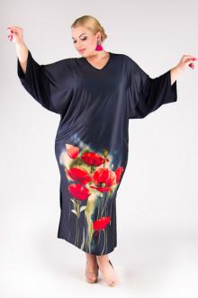 """Платье """"Артесса"""" PP02807MAK05 (Темно-синий)"""
