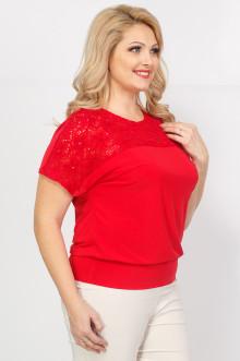 """Блуза """"Кружево"""" Sparada (Красный)"""