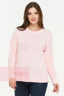 Джемпер женский 182-4740 Фемина (Жемчужно-розовый)