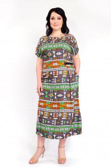 """Платье """"Африка"""" Intikoma (Серый)"""