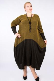 """Платье """"Артесса"""" PP62122MEL51 (Горчично-коричневый)"""