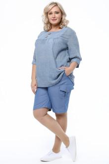 Блуза 1290-058 Грация Стиля (Джинса)